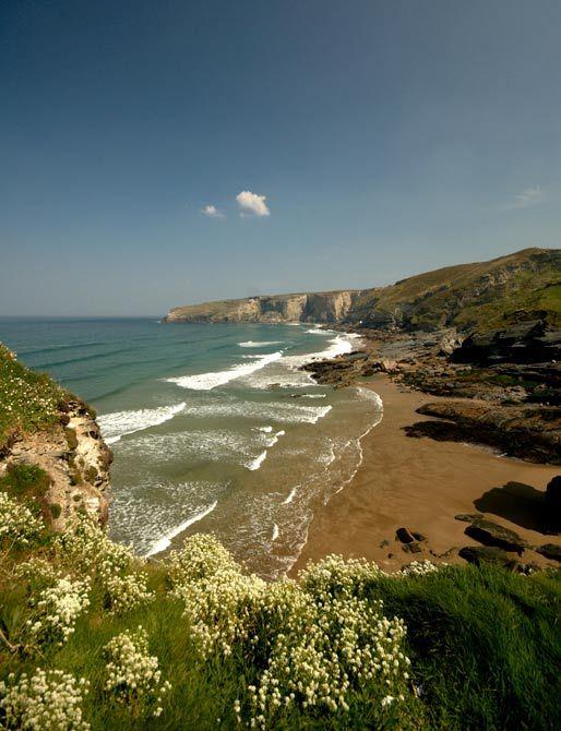 Wild and Beautiful Trebarwith Strand, Cornwall, UK