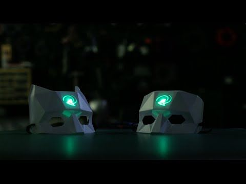 Light-Up Masks Match People Based on Facebook Profiles - http://www.psfk.com/2016/02/light-up-masks-match-facebook-profiles-skol-beats.html
