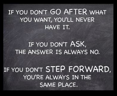 Go after what you want #fitness #motivation #quote