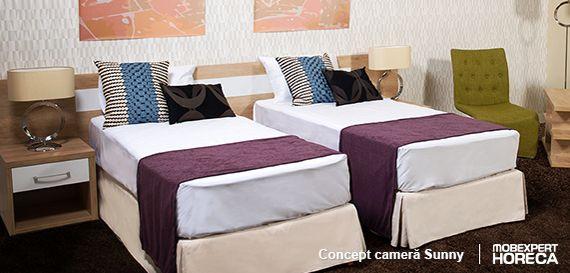 Camera Sunny este o gazdă confortabilă pentru cei care ajung doar seara la hotel, să își încarce bateriile pentru o nouă zi.  O cameră luminoasă într-un spațiu modern este evidențiată prin intermediul design-ului nonconformist.