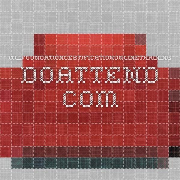 itilfoundationcertificationonlinetraining.doattend.com