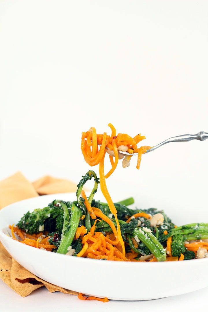 ... about Spiralizer Recipes on Pinterest | Cabbages, Sweet and Quinoa