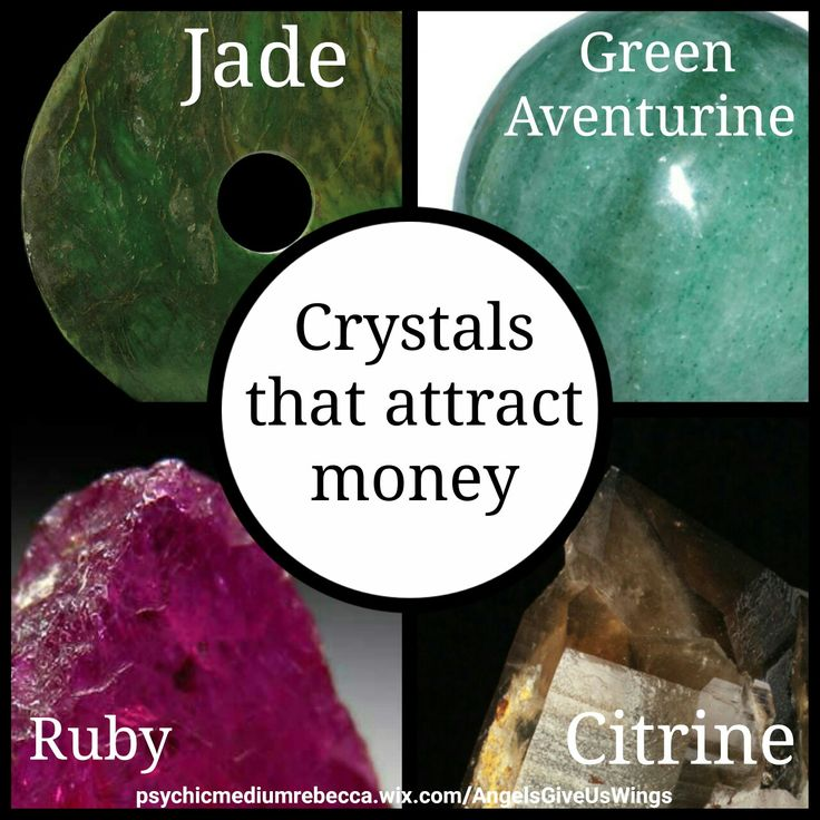 Crystals that attract money