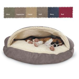 Cozy Cave Microsuede - Dog Beds, Dog Harnesses & Collars, Dog Clothes & Gifts for Dog Lovers | In The Company of Dogs