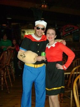 40 best popeye olive oyl images on pinterest olive oyl spinach popeye and olive oyl couples costumes solutioingenieria Images