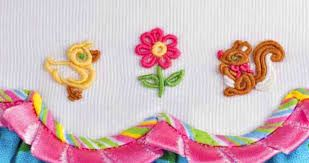 Resultado de imagen de little boys clothes embroidered with bullion stitch