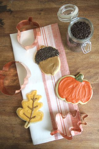 Copper Cookie Cutters - Autumn - Everyday Occasions