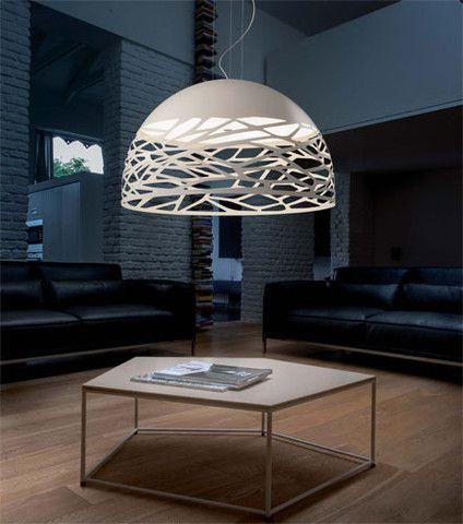 Contemporary Dome Pendant Light - Italian - LightworksOnline