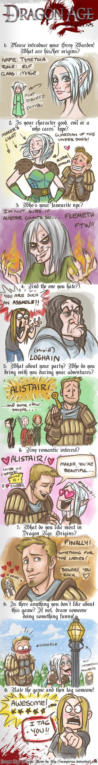 Dragon Age Meme by *WendyDoodles