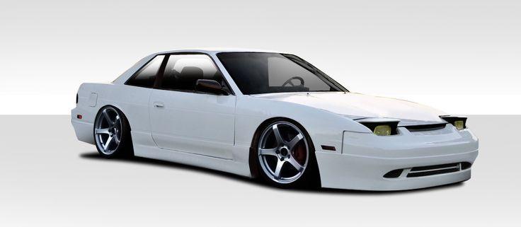 1989-1994 Nissan 240SX 2DR / Convertible Duraflex Supercool Body Kit - 4 Piece