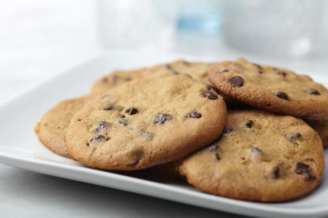 Chocolate chip cookies are just about everybody's favorite cookie, and the undoing of many a dieter or healthy eater. So why not adjust your recipes a little and enjoy a lighter chocolate chip cookie that's still worth savoring.