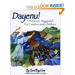 Dayenu!: A Passover Haggadah for Families and Children~~~~~ I have searched high and low for the most amazing Haggadah for my kids.... drum roll... THIS IS IT! The retelling of the story is beautiful. It has truly captured the heart and attention of my kids. I am eternally grateful!