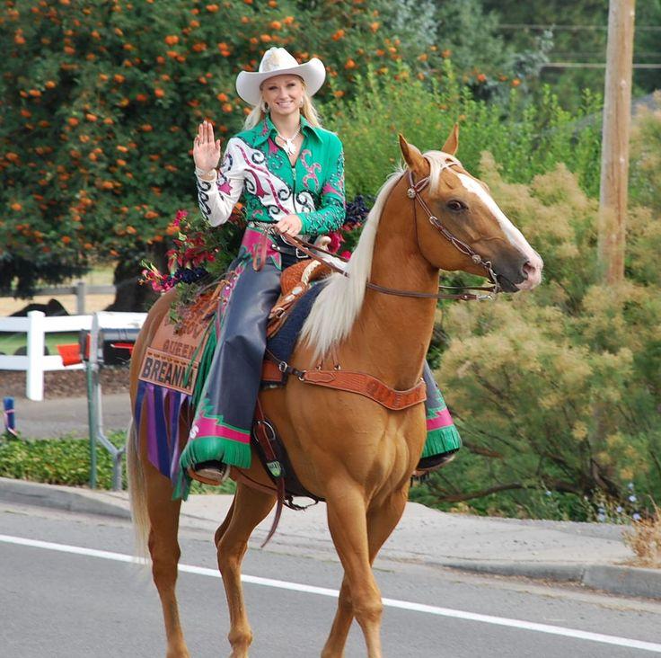 Breanna, the lovely 2013 La Grande Rodeo Queen! | Rodeo queen ...
