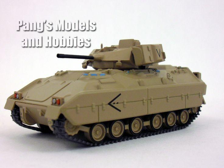 M2 Bradley Infantry Fighting Vehicle 1/72 Scale Die-cast Model by Eaglemoss