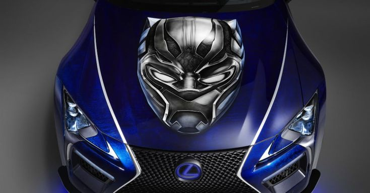 Lexus and Marvel team up for new Black Panther car and graphic novel