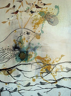 The Weight of Gold   Mixed Media on Canvas  36 x 40