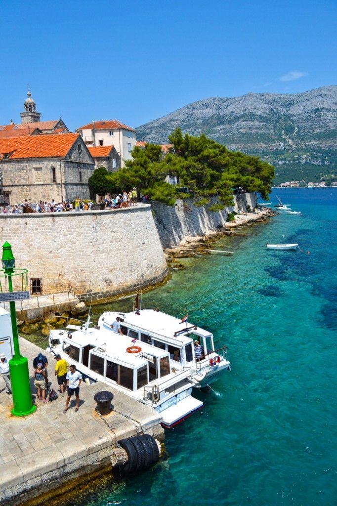 Our lovely Korcula Town....https://www.facebook.com/SebaDizajn #jewellery #korcula #Croatia #silver