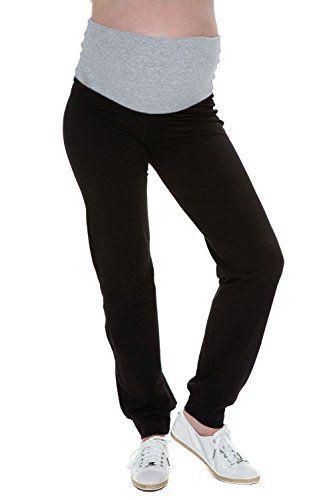 My Tummy Pantalone premaman da fitness con fascia grigia, http://www.amazon.it/dp/B00NUB9GGK/ref=cm_sw_r_pi_awdl_BoFywb1BWHQ4B