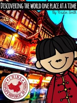 This unit has everything you need to teach your students about China. With over 120 pages of interesting facts, pictures, and activities, you and your students will love this packet.   This packet includes 16 lesson plans to help you as you plan your unit.