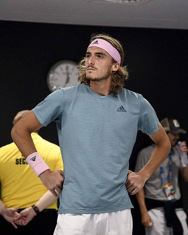 Stefanos Tsitsipas Is Ready To Win Against Eveybody As Rafa Said Tennis Photos Tennis Stars Tennis