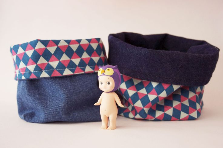 Aujourd'hui je vous propose un diy pour créer un panier de rangement en tissu assez facilement ! (oui parce-que je n'y connais rien en couture et j'ai réussi alors !)