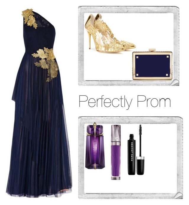 """Prom Perfection"" by simone-kelly-coad-lutwyche ❤ liked on Polyvore featuring Polaroid, Mikael Aghal, Oscar de la Renta, Valentino, David Jones, Urban Decay and Marc Jacobs"