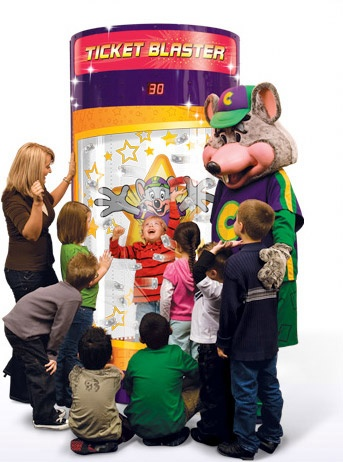 Chuck E Cheese S Pizza Fun Games And Pizza Pdx