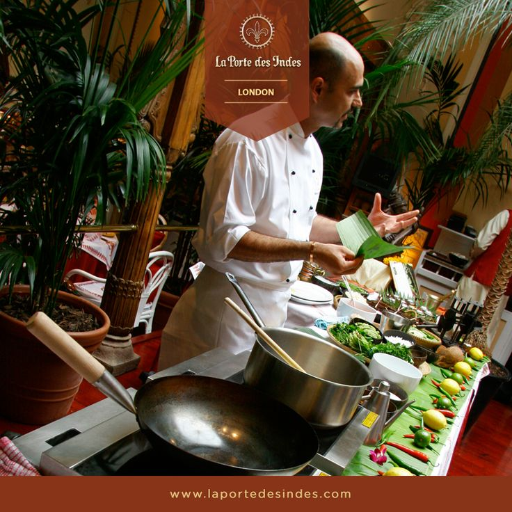 A master class like no other. Join our award winning Chef, Mehernosh Mody, as he unravels the secrets of Indian food with his Masterclass at La Porte des Indes, London. http://www.laportedesindes.com/london/indian-cooking-classes/