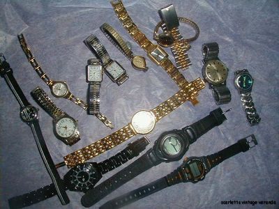Great watch repair lot - Raymond Weil, Timex, Fossil, Casio, Belforte and more!