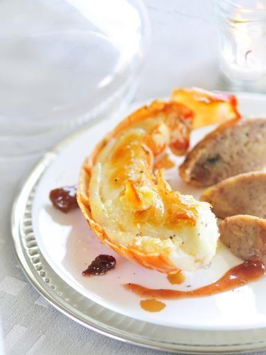Recette Langouste rôtie en carapace au beurre d'orange, notre recette Langouste rôtie en carapace au beurre d'orange - aufeminin.com