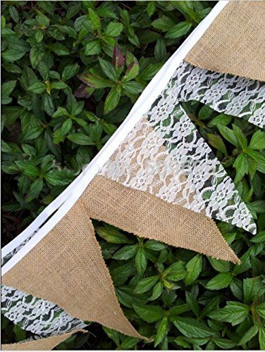 50 Chic-Rustic Burlap and Lace Wedding Ideas - Deer Pearl Flowers