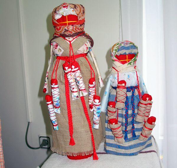 Кукла-оберег, или Заместитель человека…