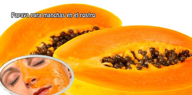 La papaya contiene enzimas similares a las proteínas, ayuda a eliminar las células muertas de la piel, brindando hidratación y protección.