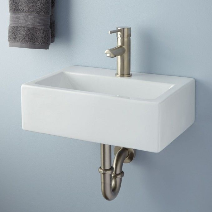 halley rectangular porcelain wallmount sink wall mounted bathroom sinkssmall ideastiny