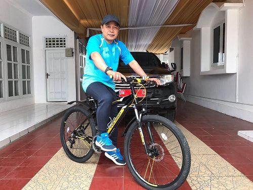 Wabup Soppeng Ajak Masyarakat Cintai Olahraga Sepeda
