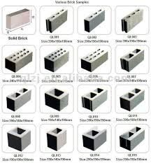 Concrete Block Sizes Google Search Interior