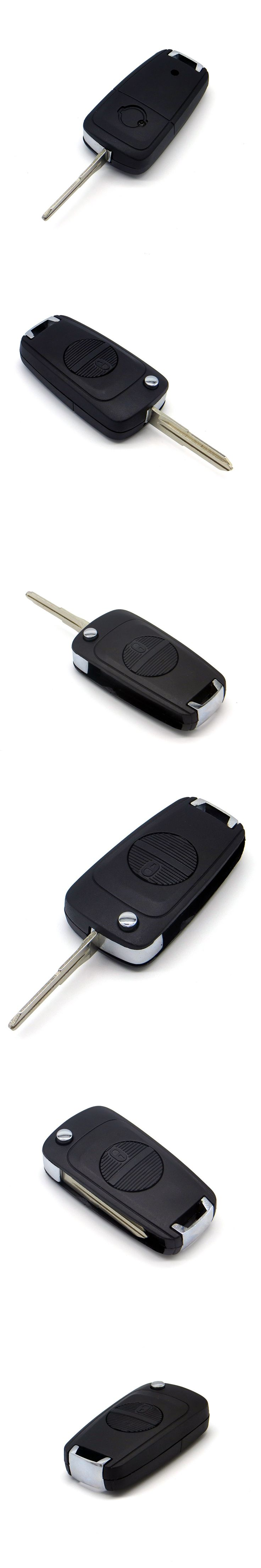 WhatsKey 2 Button Folding Car Key Shell Modified For Nissan Primera Micra Terrano Almera X-trail Remote Flip Auto Key Case Cover