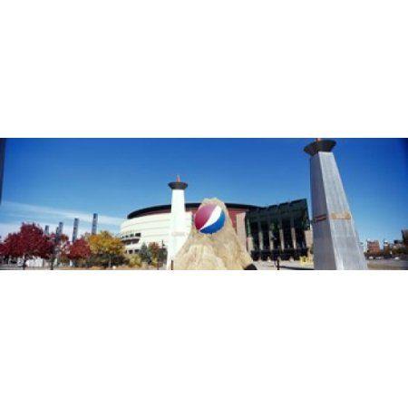 Building in a city Pepsi Center Denver Denver County Colorado USA Canvas Art - Panoramic Images (18 x 6)