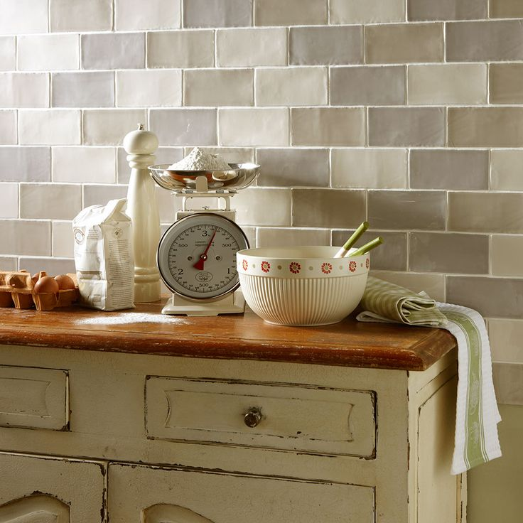 Rustic Metro Tiles by Louisa Charlotte - These Rustic Metro Tiles will paint some fantastic character into those drab and dreary walls. The textured rustic effect will give real definition to your bathroom or kitchen, this style of tile has been featured in all the latest interior design magazines and is completely on trend for 2014!
