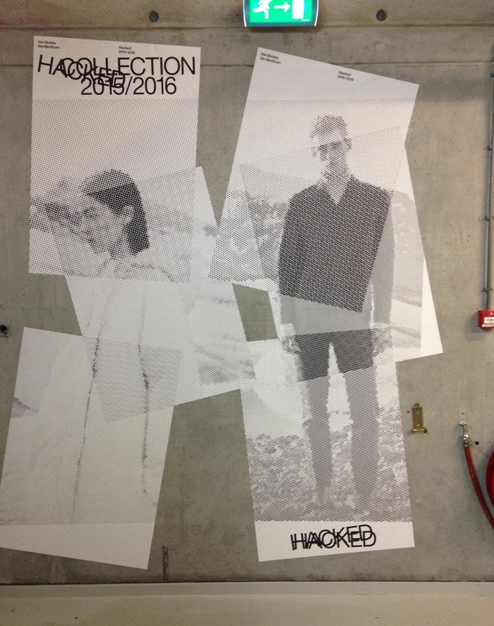 Experimental Jetset for 'Hacked', an exhibition on the work of fashion designers Van Slobbe and Van Benthum