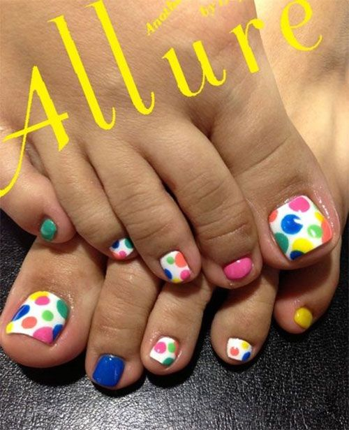 Easter Toe Nail Art Designs
