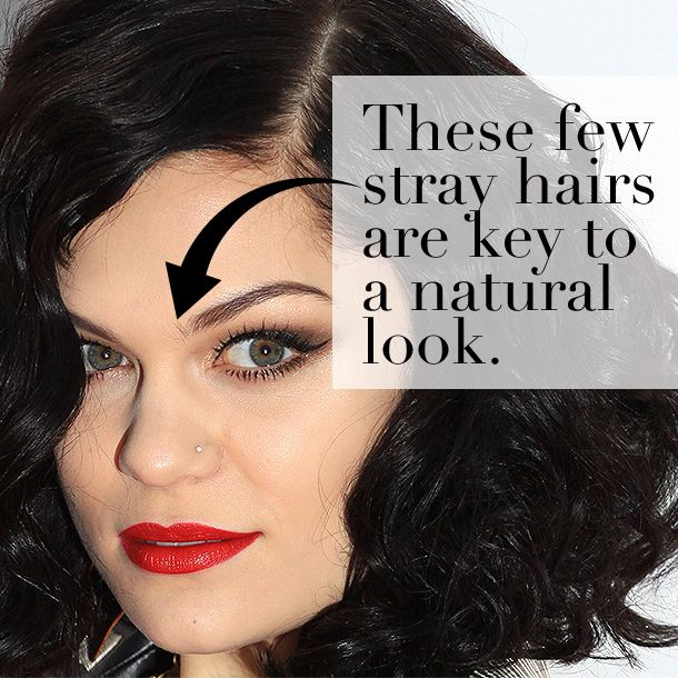 The 10 Eyebrow Commandments | Easy on the ombré. Your brows should go from hairy to opaque, not light to dark. #eyebrows