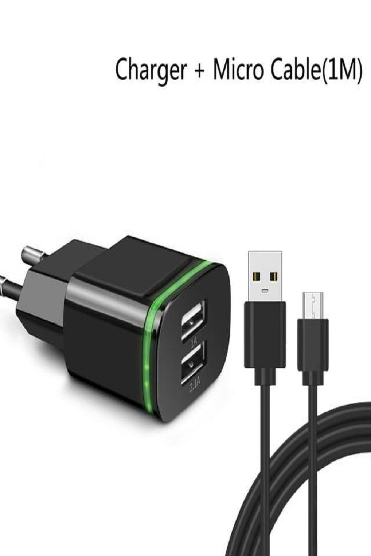 100 Brand New And High Quality Two Usb Plug Charge Two Devices