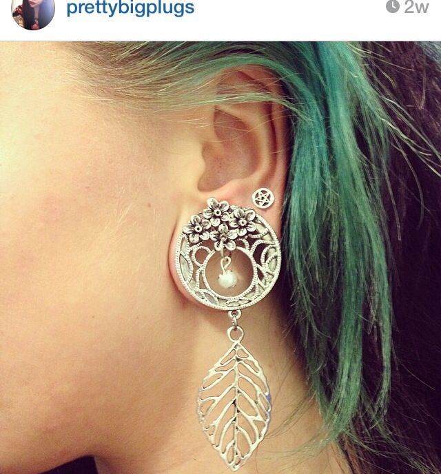Pretty dangle plugs. Gauges.