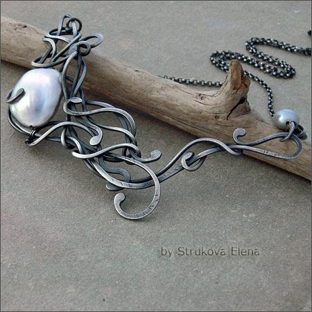 19 best jewelry making ideas strukova elena images on pinterest jewelry necklacesmetal audiocablefo