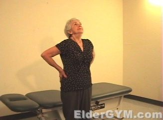 Lower Back Stretching That Is Safe, Simple And Effective For Older Adults And The Elderly.