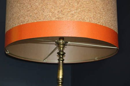 orange lamp shades - Google Search