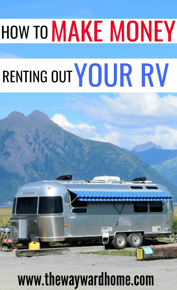 You can make thousands of dollars turning your RV into a camper rental. #rv #rvlife #camper