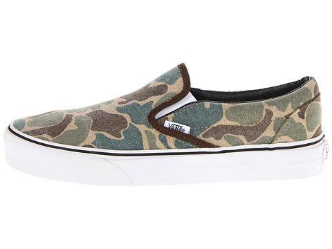 Vans Classic Slip-On Camo