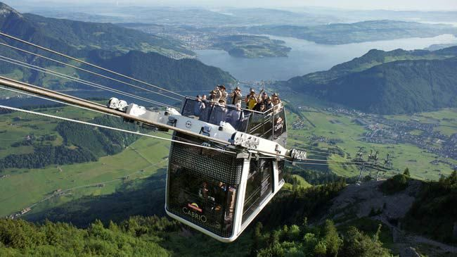 Stanserhorn Cabrio, Switzerland